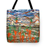 Carrots Dancing In The Sunrise Tote Bag