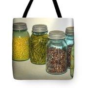 Carrots Vintage Kitchen Glass Jar Canning Tote Bag