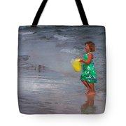 Carrying Water Tote Bag
