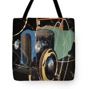 Cars And Stars Tote Bag