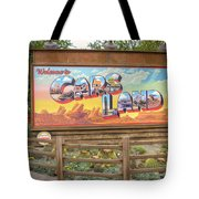 Cars Land Tote Bag