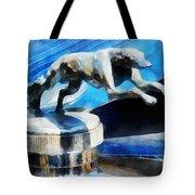 Cars - Lincoln Greyhound Hood Ornament Tote Bag