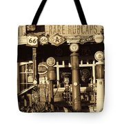 Carsland Route 66 Tote Bag