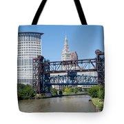 Carter Road Lift Bridge Tote Bag