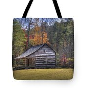 Carter-shields Cabin Tote Bag by Crystal Nederman