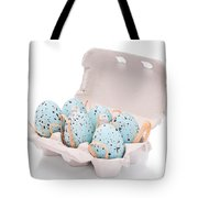 Carton Of Easter Eggs Tote Bag by Amanda Elwell