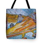 Cartoon Airplane Tote Bag