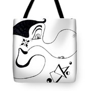 Cartoon Eddie Tote Bag