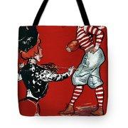Cartoon Football, 1901 Tote Bag