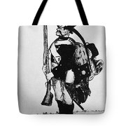 Cartoon: Hessian Soldier Tote Bag
