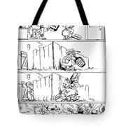 Cartoon: League Of Nations Tote Bag