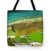 Cartoon Lizard Tote Bag
