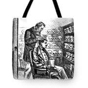 Cartoon: Phrenology, 1865 Tote Bag
