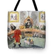 Cartoon: Surgeons, 1811 Tote Bag