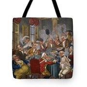 Cartoon: The Smoking Club Tote Bag