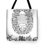 Cartouche, 1635 Tote Bag