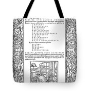 Cartouches, C1530 Tote Bag