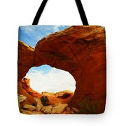 Carved By The Winds Of Time Tote Bag