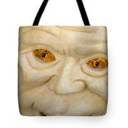 Carved Pumpkin Face Tote Bag