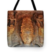 Statue At The Temple Of The 64 Yoginis - Jabalpur India Tote Bag