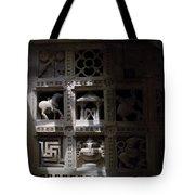 Carvings Of Jainism Tote Bag