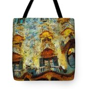 Casa Battlo Tote Bag by Mo T