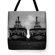 Casca And Whitehorse Tote Bag