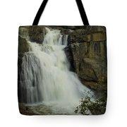 Cascade Creek Under The Bridge Tote Bag by Bill Gallagher