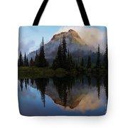 Cascade Mirror Tote Bag by Mike  Dawson