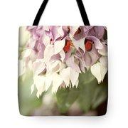 Cascade Of Flower Tote Bag