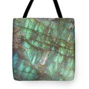 Cascade Of Green Tote Bag