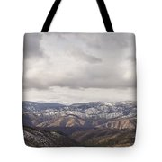 Cascade Panorama Tote Bag