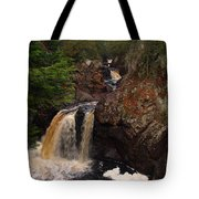 Cascade River Tote Bag by James Peterson