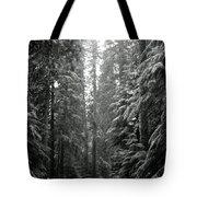 Cascade Snow Tote Bag