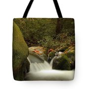Cascades In Appalachian Mountains Tote Bag