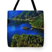 Cascades Lake Tote Bag