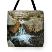 Cascading Downward Tote Bag