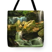 Cascading Everywhere Tote Bag
