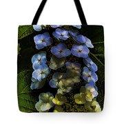 Cascading Flower Tote Bag