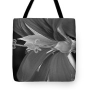 Cascading Ivy Geranium Named Decora Fire Tote Bag