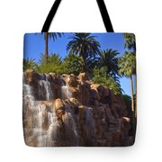Cascading Rocky Waterfall Tote Bag