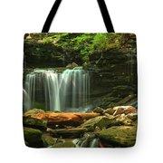 Cascading Through Glen Leigh Tote Bag