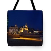 Cascais By Night - Portugal Tote Bag