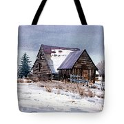 Cache Valley Barn Tote Bag