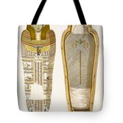 Case And Mummy In Its Cerements Tote Bag