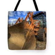 Case Backhoe Tote Bag