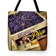 Case Of Sangiovese Grapes Tote Bag