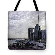 Case Of The Missing P Aka As Pier 17 Tote Bag