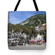 Casemates Square In Gibraltar Tote Bag