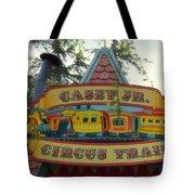 Casey Jr Circus Train Fantasyland Signage Disneyland Tote Bag